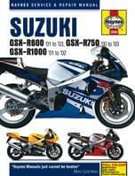 HAYNES 3986 MOTORCYCLE SERVICE REPAIR OWNER MANUAL SUZUKI GSX-R1000 2001 - 02